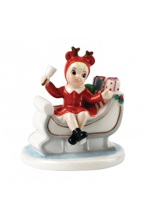 ROYAL DOULTON Sleigh Full Of Gifts at  WWRD, Tanger Outlets, San Marcos, TX or call 1-800-203-4540 or 512-396-4025.  We ship.
