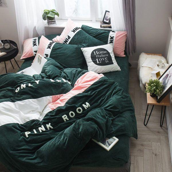Victoria S Secret Bedding Sets Buy Victoria S Secret Pink Bed Sets Ebeddingsets Com Pink Bedding Set Flannel Bedding Pink Bedding
