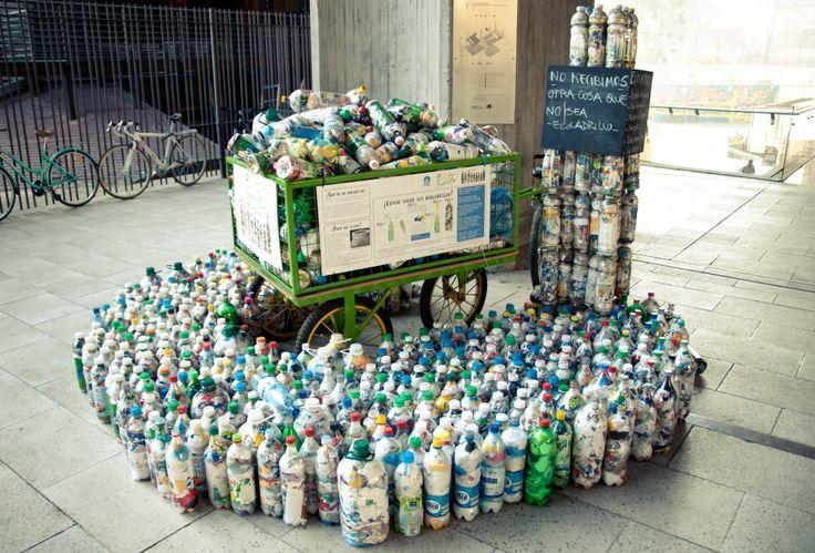 Reducir, reutilizar y reciclar.
