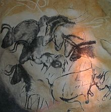 Chauvet Cave France- earliest cave drawings dating back as far as 32,000 years based on carbon dating.