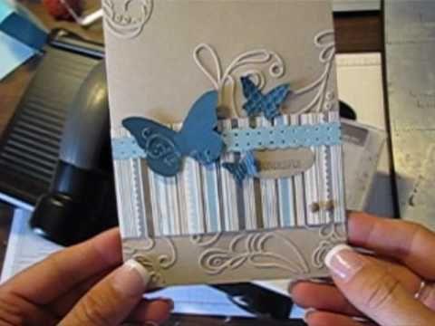 Beautiful embossed card.