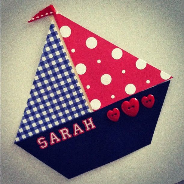 """Sail"" to ___ grade! This would be a great addition to an ocean theme! desk dec