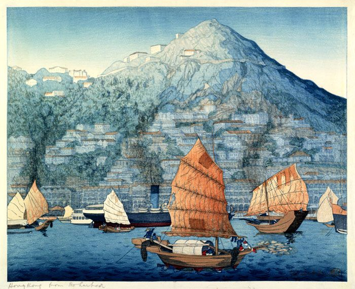 hanga gallery . . . torii gallery: Hong Kong, Day by Elizabeth Keith
