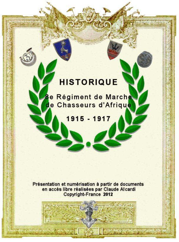 8eme régiment de Chassers ´Afrique