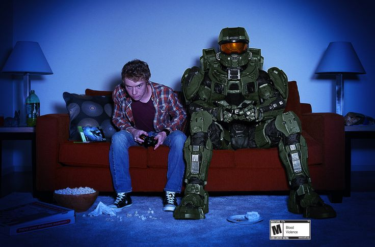 Looking for the ultimate media room? Just add Master Chief!