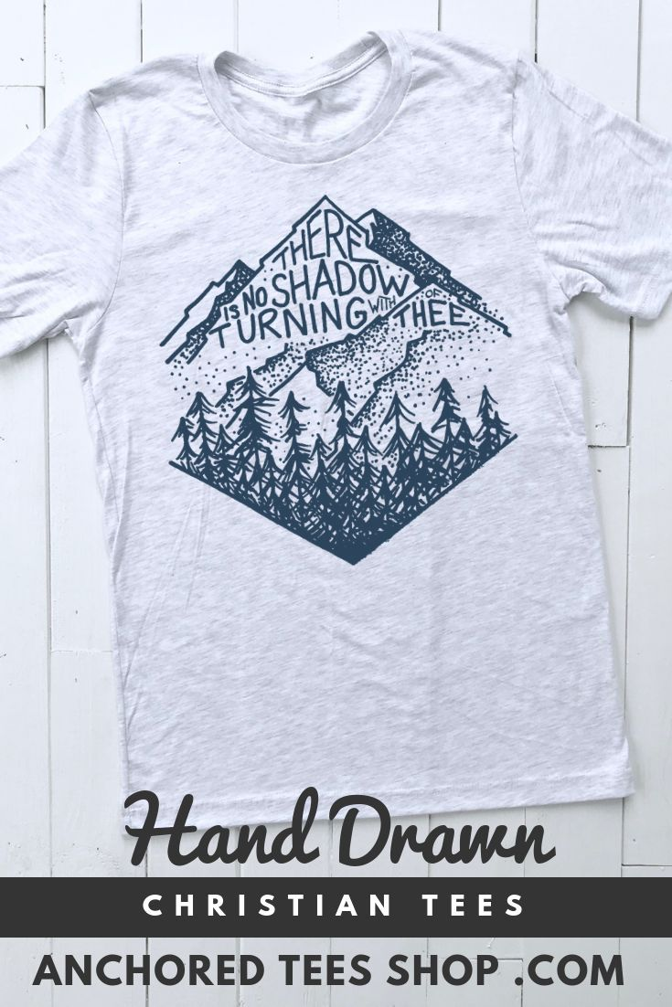 Shop Hand Drawn Christian T Shirts For Men And Women Our Hope