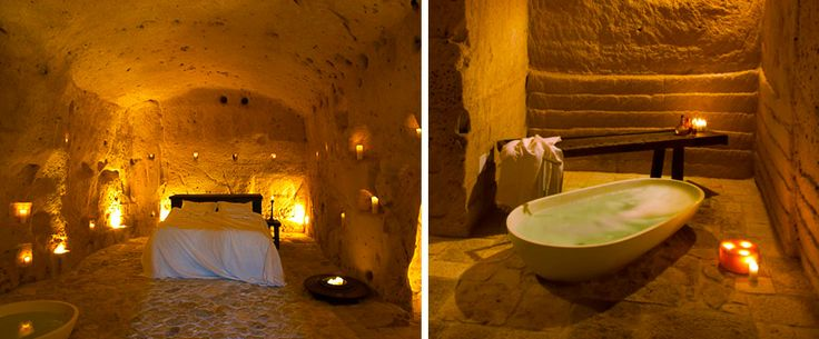 Le Grotte della Civita **** Breathtakingly romantic, a stay in these Italian caves, with authentic furnishings, is sure to be a uniquely charming experience.