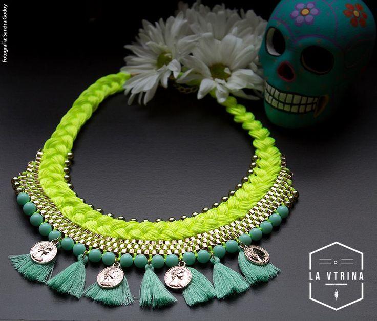 Tenemos los mejores collares, llenos de color para ti. $60.000