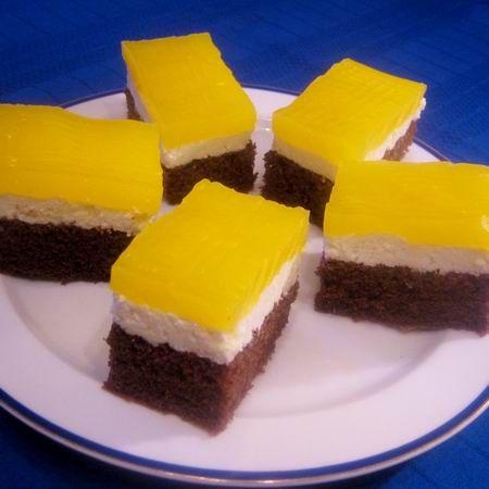 FANTA SZELET         Hozzávalók:     A tésztához:   6 db M-es tojás   12 dkg cukor   15 dkg rétesliszt   2 evőkanál (holland) ka...