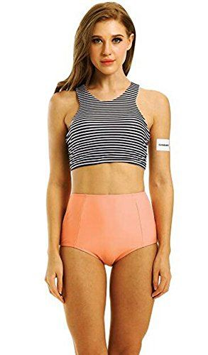 Bikini season it's approaching. If you're like us and not particularly ready to flaunt your body in a teeny tiny bikini then a high-waisted swimsuit is the answer to your prayers. To keep you feeling comfortable and sexy, these top ten high-waisted bikinis will provide you with just the right.