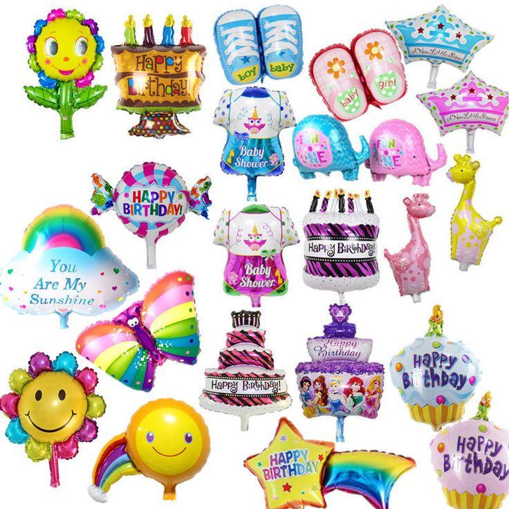 Narozeninové balóny, cena od 0,52