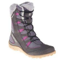 Hiking shoes Hiking, Climbing, Trail - Leone Lady Winter Boots Grey SALOMON - Hiking Footwear