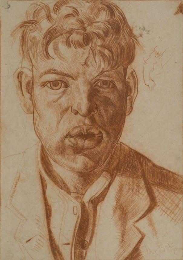 stanley spencer drawings - Google Search  Gilbert Spencer by Hilda Carline