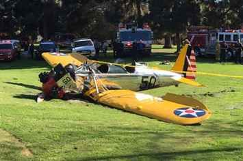 Harrison Ford Fans On Twitter React With Humor To Plane Crash - BuzzFeed News