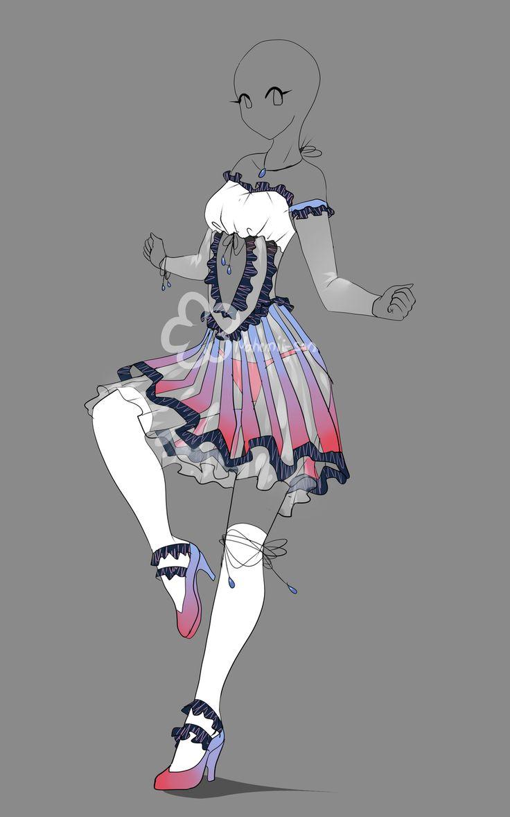 anime girl clothes ideas: Closed By Nahemii-san.deviantart
