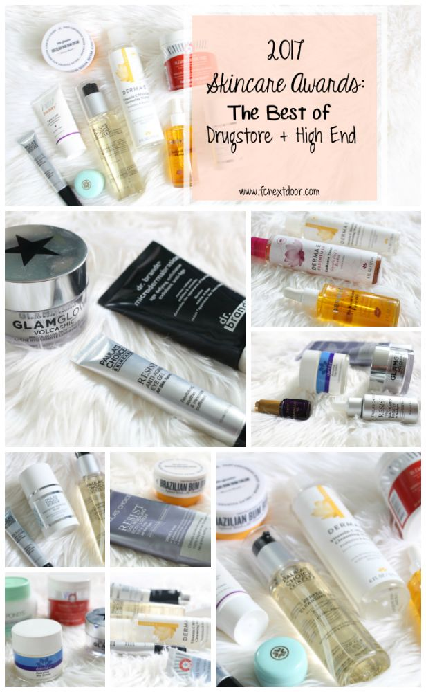 2017 Skincare Awards: The Best of Drugstore + High End - Fit Chick Nextdoor