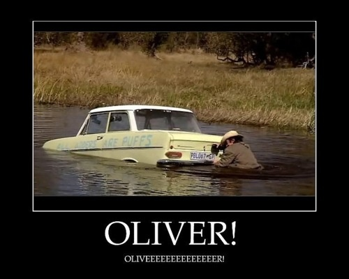 Olliiiiveeer! {I only have room in my heart to love Top Gear UK. And the US version sucks miserably lol.}