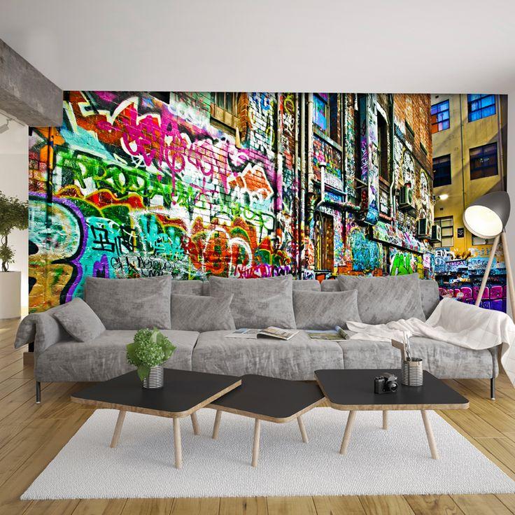 Melbourne Graffiti Laneway | WallpaperThe Block Shop - Channel 9