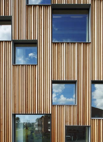 Umea School of Architecture in Sweden by Henning Larsen Architects