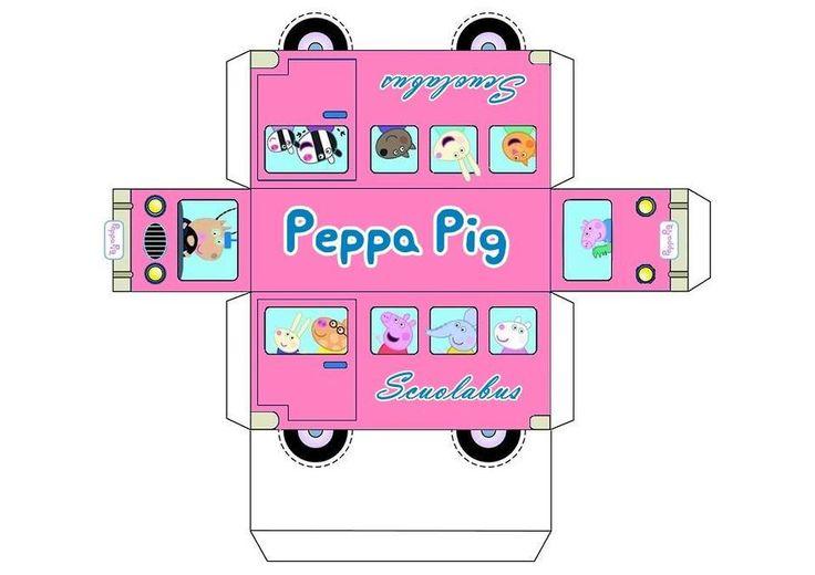 scuolabus peppa pink
