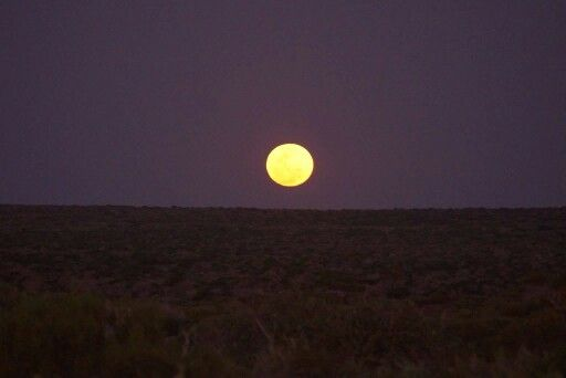 Awesome moon rise