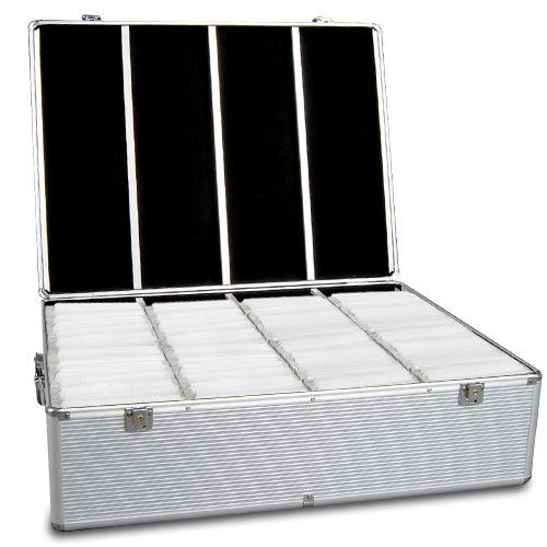 i.Life Aluminium CD Storage Case Box 1000 Disks