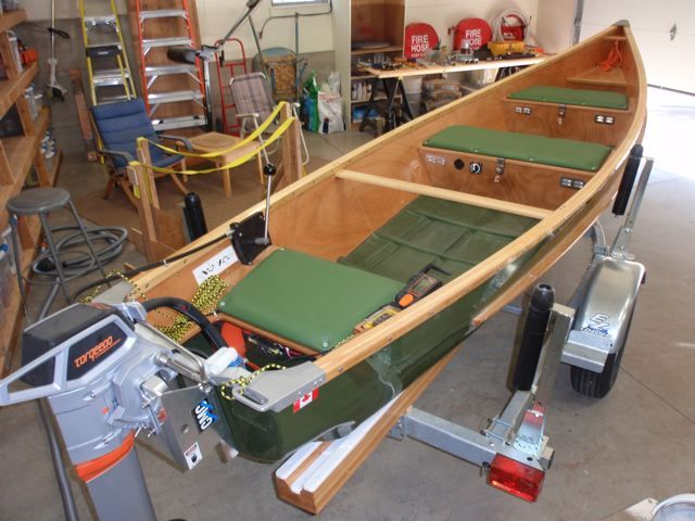 Canoe Boat Ladder Diy Canoe Seat Backrest Canoe Building Build