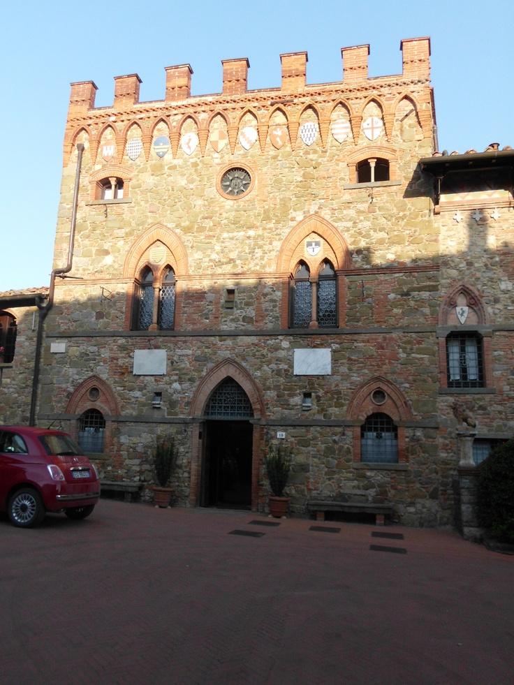 Castelleto di Montebenichi, Tuscany. The most amazing hotel on the planet.