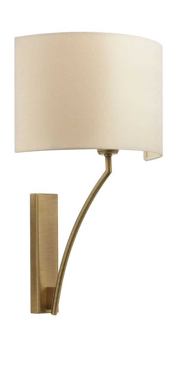 Wh wholesale vintage lead crystal table lamp buy cheap - Elgar Antique Brass Wall Light Heathfield Co