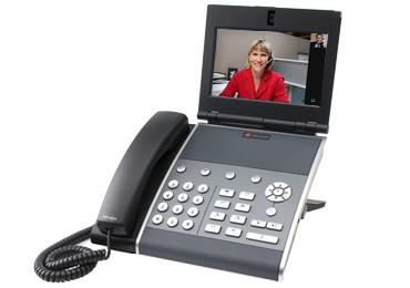 Polycom VVX 1500 dual-stack business media desktop unifies voice