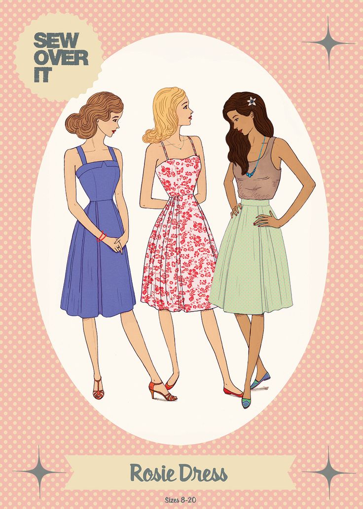 Rosie Dress Sewing Pattern | Sew Over It | on the to-sew list!