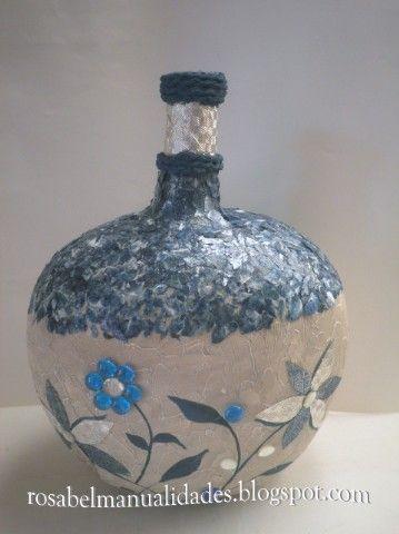 Rosabel manualidades garraf n reciclado de cristal - Rosabel manualidades ...