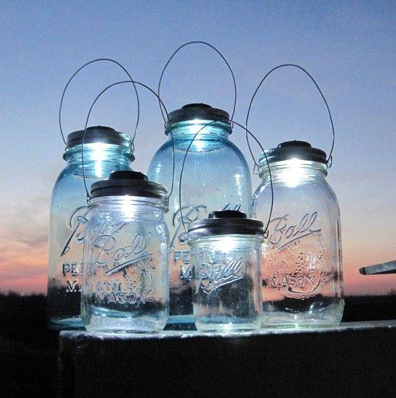 One was led light jars luv