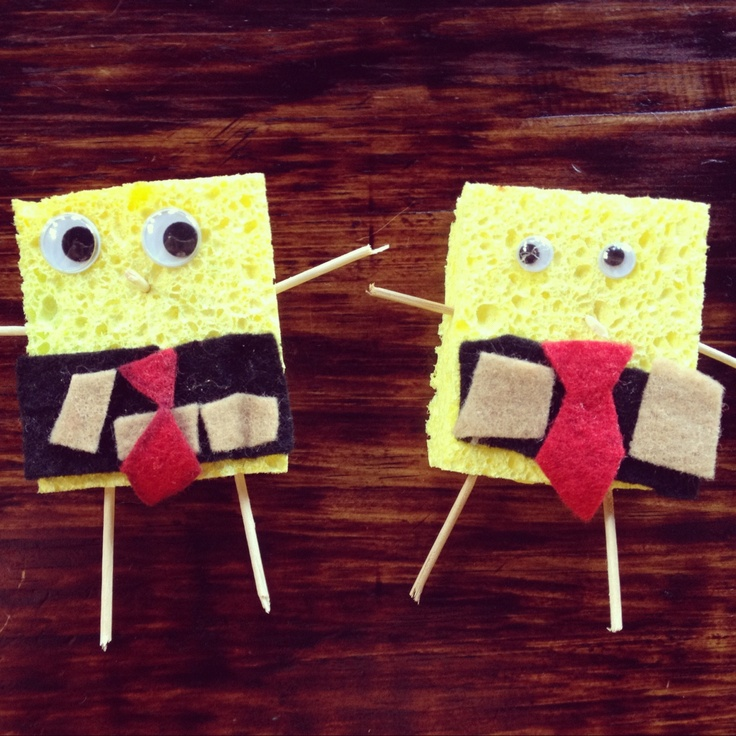 10 Fun Spongebob Squarepants Craft Activities For Kids