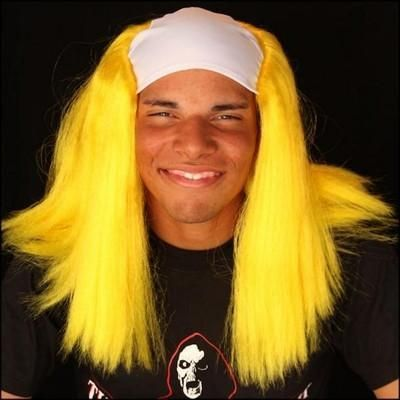 Clown Wig   Yellow   Halloween Wig