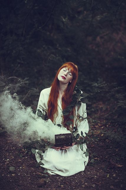 forest magicWitchy Red, Witches Photography,  Coho Salmon, Red Hair,  Blue Jack, Pandora Boxes, Witchy Photography, Forests Magic,  Cohoe