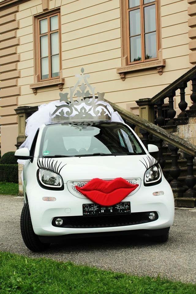 Das perfekte Fahrzeug für die smarte Braut. Zu mieten unter schäfer-vermietungen.de