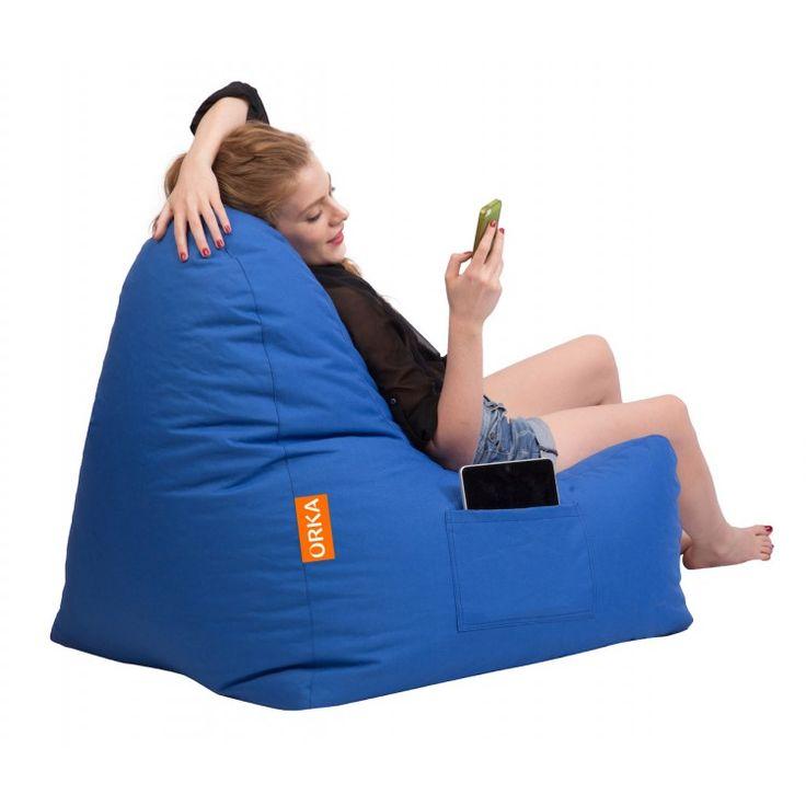 Triangle Bean Bag Chair