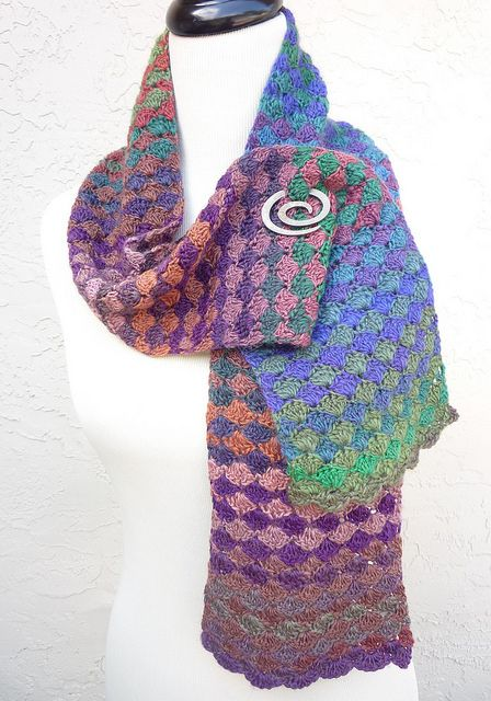 Ravelry: Project Gallery for The Diamond Exchange pattern by Michelle B. Used Mini Mochi yarn