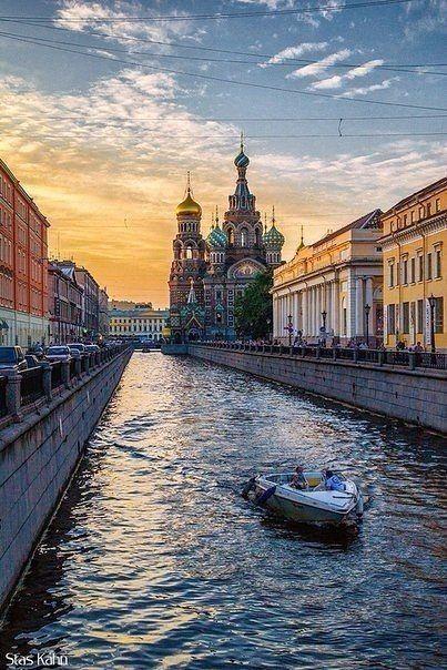 Санкт-Петербург, Россия / Путешествие с комфортом