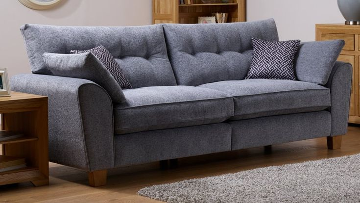 Fabric Sofas | The Brooke Range | 4 Seater, 3 Seater, 2 Seater, Armchair, Footstool