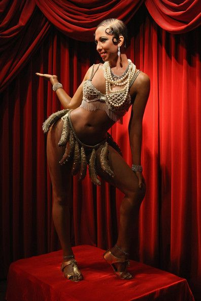 Josephine Baker,  A wax firgure of burlesque dancer Josephine Baker stands on display at Madame Tussauds on December 19, 2008 in Berlin, Germany