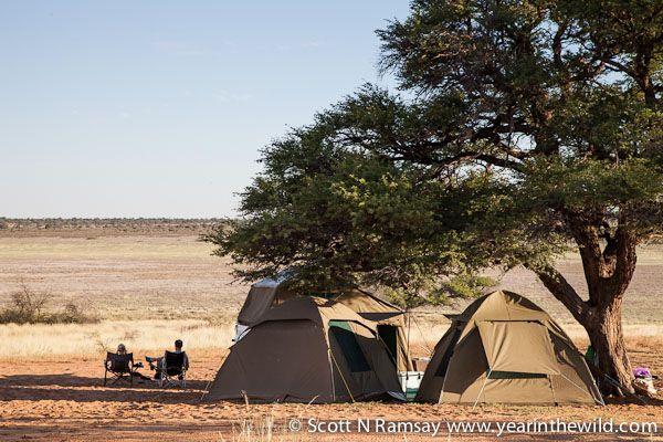 Mpayathutlwa pan in Mabuasehube on the Botswana side of the Kgalagadi