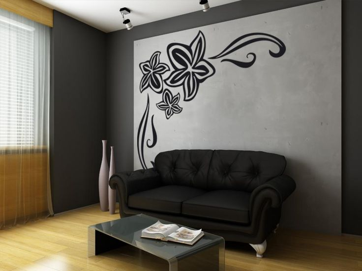 Sticker da parete Fiore #adesivi murali #stickers #parete #home #decor #decorazioni