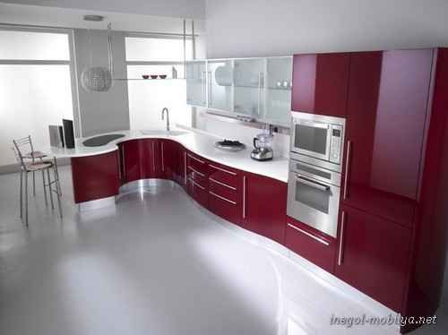 Amazing Red Kitchen Design Ideas Home PaydayLoansNearMeUs Intended For Red  Kitchen With Modern Design 10 Red Kitchen Models With Modern Design