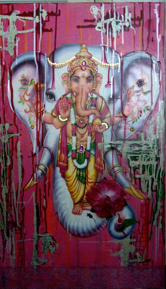 Ganesha.... On Ganesha