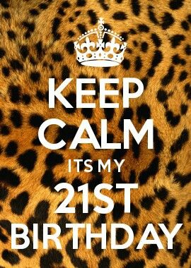 21st birthday @Christine Smythe Smythe Hall