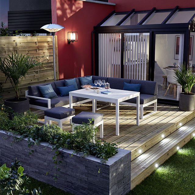 chauffage terrasse electrique castorama perfect autres. Black Bedroom Furniture Sets. Home Design Ideas
