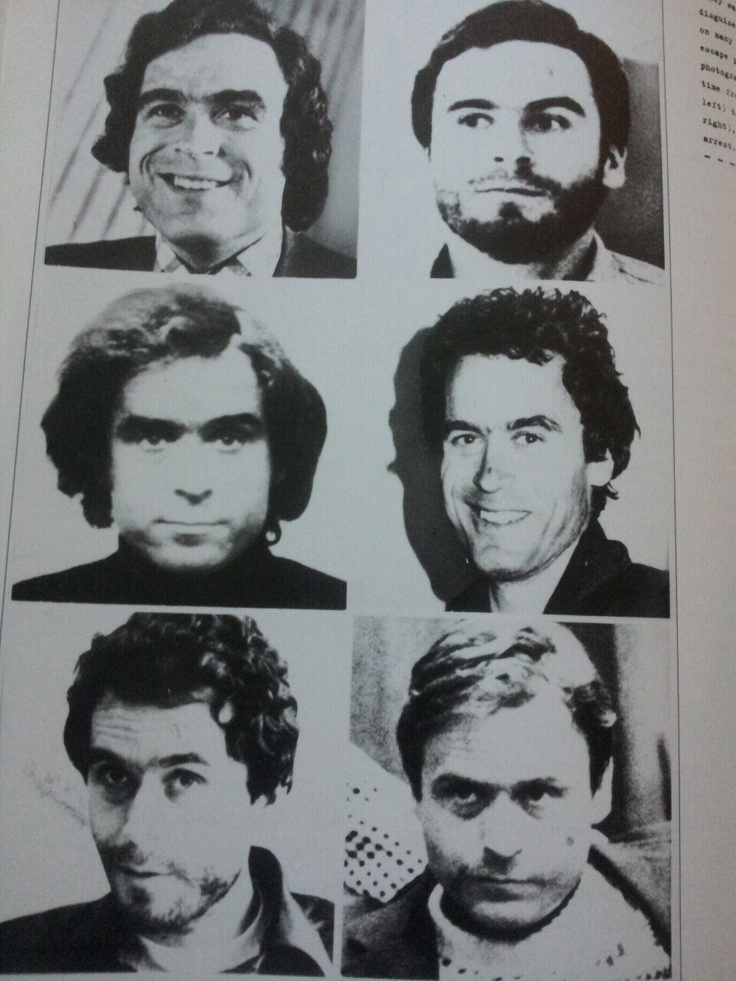 The many faces of Ted Bundy: