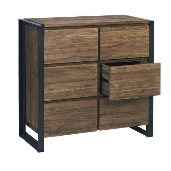 D bodhi dressoir fendy loft style urban for Muebles industriales metal baratos